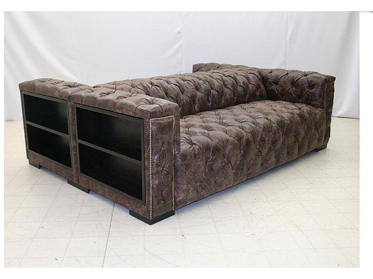 Old Hickory Tannery Double Back 2 Sofa Chesterfield 1100 Bk