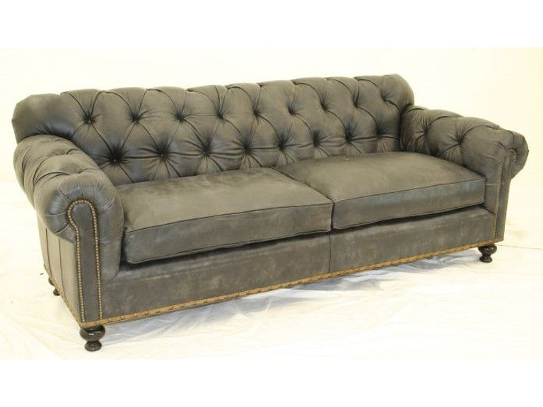 Old Hickory Tannery Living Room Tufted 2 Cushion Sofa