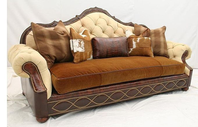Old Hickory Tannery Sofa 1845 03