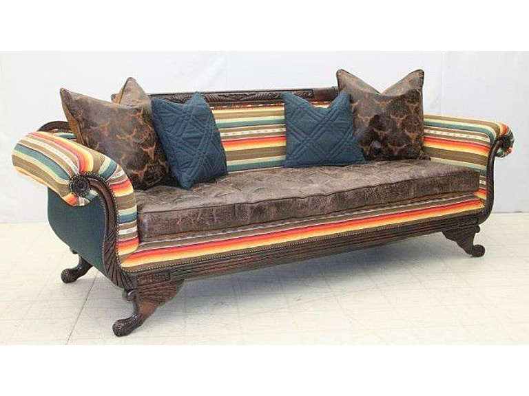 Sensational Old Hickory Tannery Duncan Sofa With Pull Bottom Seat 6403 Caraccident5 Cool Chair Designs And Ideas Caraccident5Info
