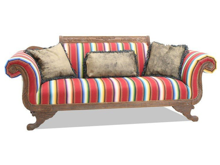 Old Hickory Tannery Living Room Duncan Phyfe Sofa Hickory - Old hickory furniture