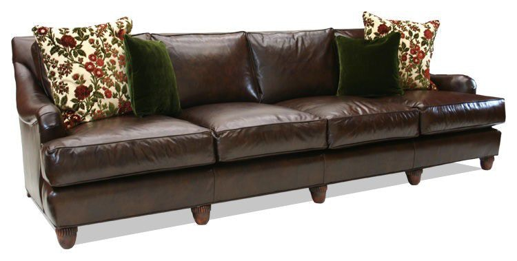Old Hickory Tannery Four Cushion Sofas 8025 04