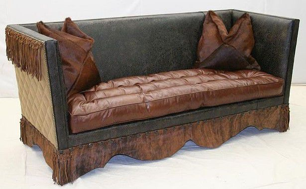 Old Hickory Tannery Sofa 9250 03