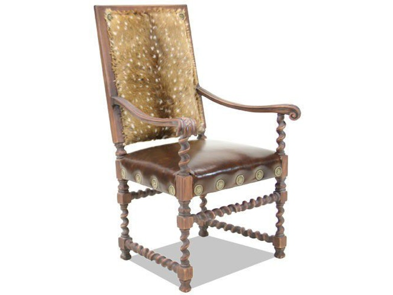 Old Hickory Tannery Dining Room Chair Ai 426 01 High Country Furniture Design Waynesville Asheville And Hendersonville Nc