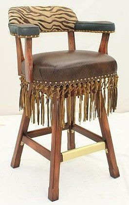 Old Hickory Tannery Bar And Game Room Swivel Barstool Bar