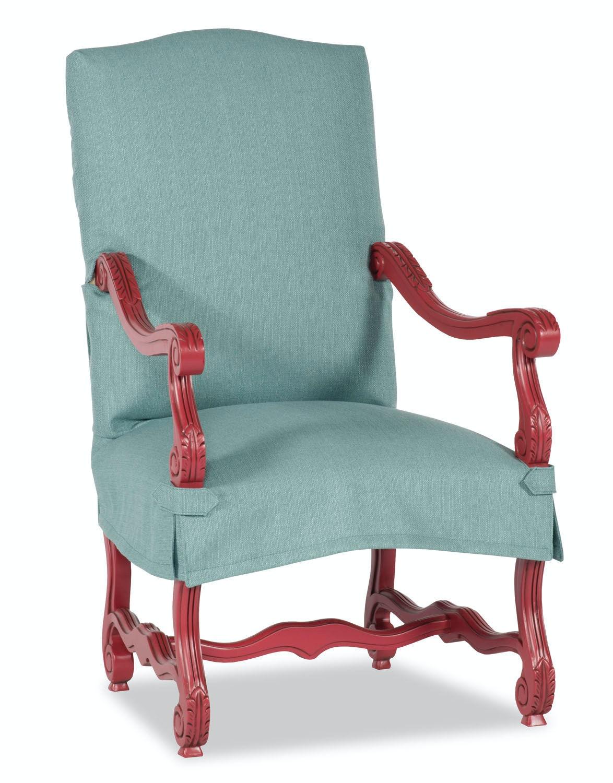 Good Paul Robert Cantebury Chair Slipcover 1014 SHORT SLIP