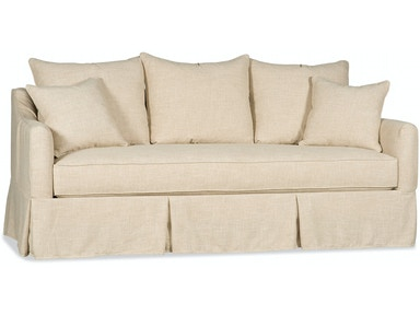 Paul Robert Vincent Sofa Slipcover 122 SKIRTED SLIP