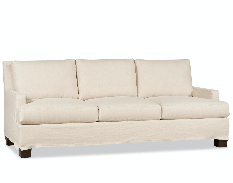 Paul Robert Living Room Vaughn Sofa Slipcover 671 SHORT SLIP ...