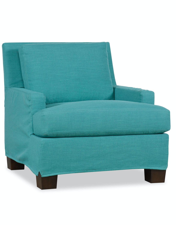 Paul Robert Vaughn Chair Slipcover 671 10 SHORT SLIP