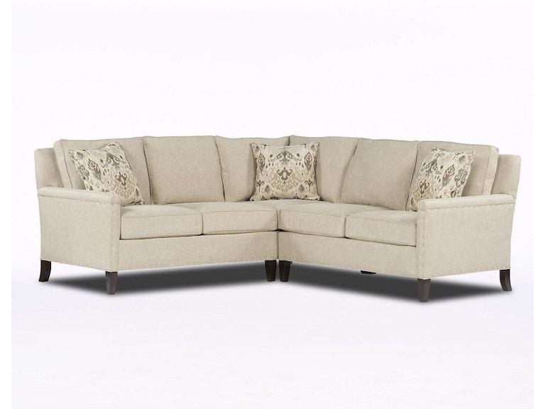 Paul Robert Living Room The Drake Sectional Sofa 76 LARS - Stowers ...