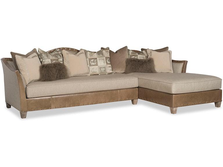Paul Robert Living Room Tomlyn Sectional Sofa 84 LAS - Stowers ...