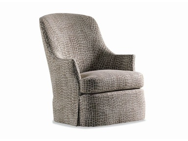 Jessica Charles Gable Swivel Chair 271-S