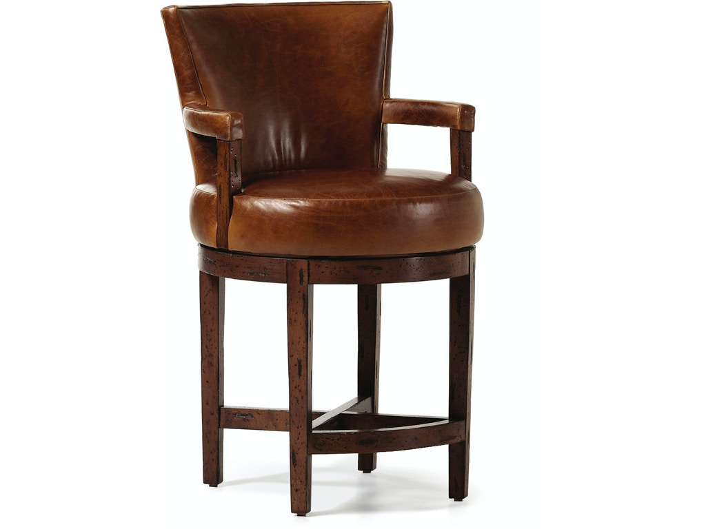 Jessica Charles Bar And Game Room Melrose Memory Swivel Barstool 101 30 Ms Cherry House