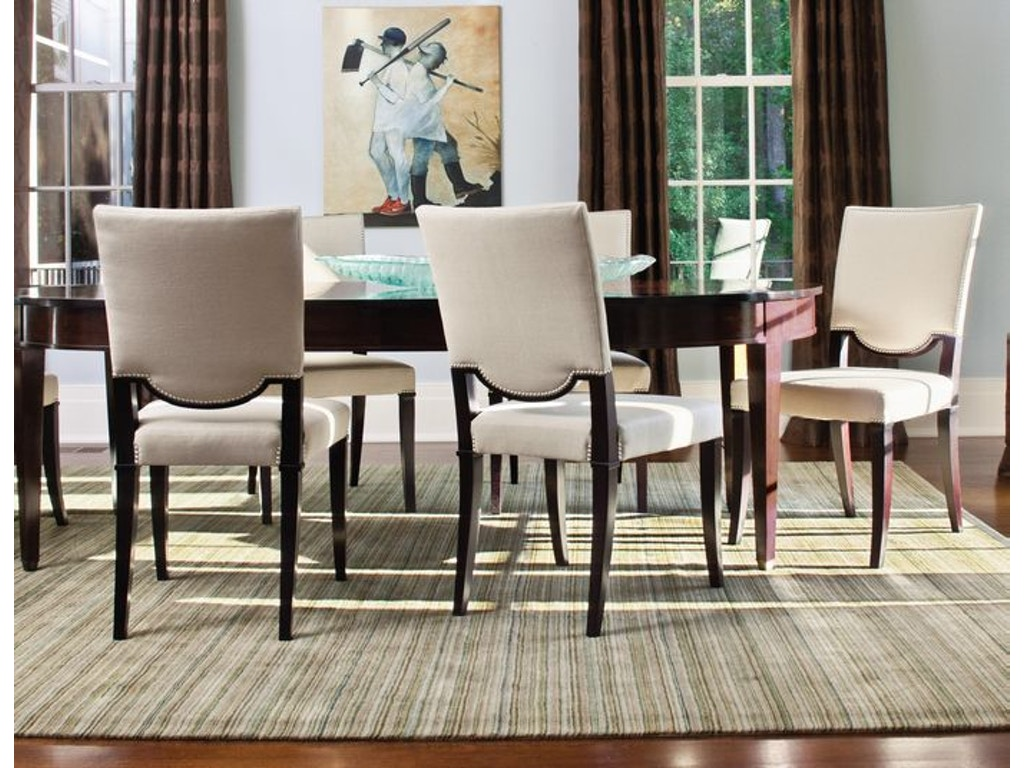 Jessica charles dining room brighton dining chair 1107 for Dining room johnson city tn