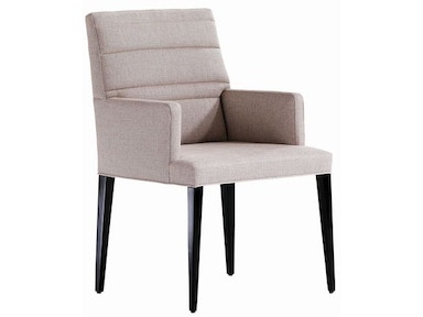 Jessica Charles Sabrina Quilted Arm Dining Chair