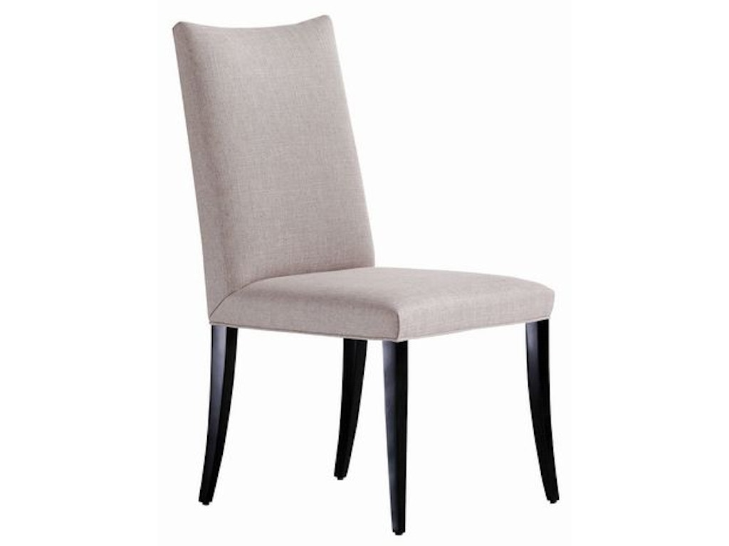 Jessica charles dining room amalfi dining chair 1117 alyson jon interiors houston and - Dining room chairs houston ...