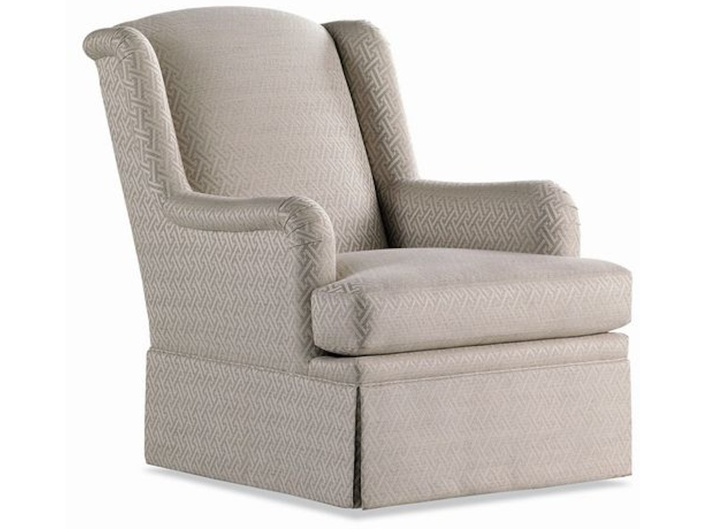 Jessica Charles Living Room Nolan Swivel Rocker Chair 451 Sr Hampton House Furniture