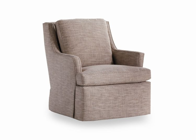 Jessica Charles Living Room Copley Swivel Chair 155 S