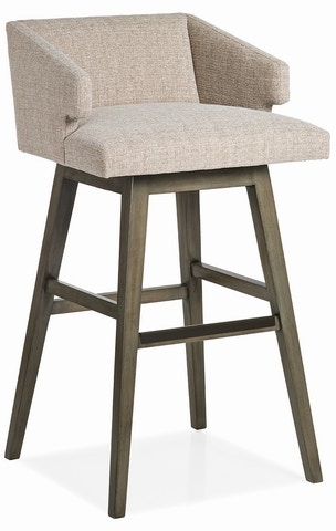 Jessica Charles Bar And Game Room Savannah Low Back Memory Swivel