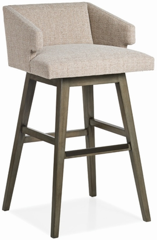 Jessica Charles Savannah Low Back Memory Swivel Bar Stool 48 32 Ms