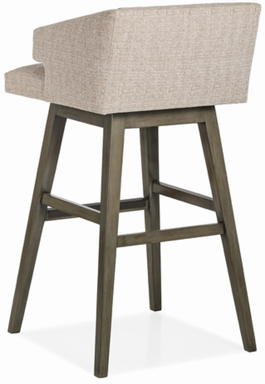 Savannah Low Back Memory Swivel Bar Stool Arb4832ms