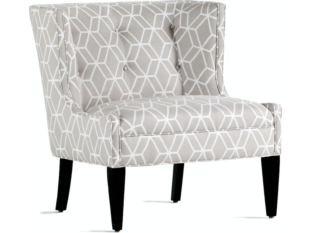Jessica Charles Living Room Lexi Slipper Chair 341 North Carolina Furniture Mart Bixby Ok