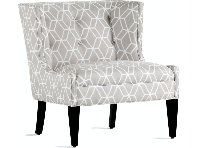 Terrific Jessica Charles Living Room Lexi Slipper Chair 341 Cherry Gmtry Best Dining Table And Chair Ideas Images Gmtryco