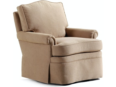 Jessica Charles Living Room Douglas Swivel Rocker 408 Sr