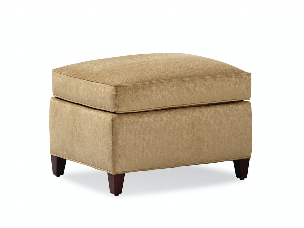 Jessica Charles Living Room Ottoman 5803