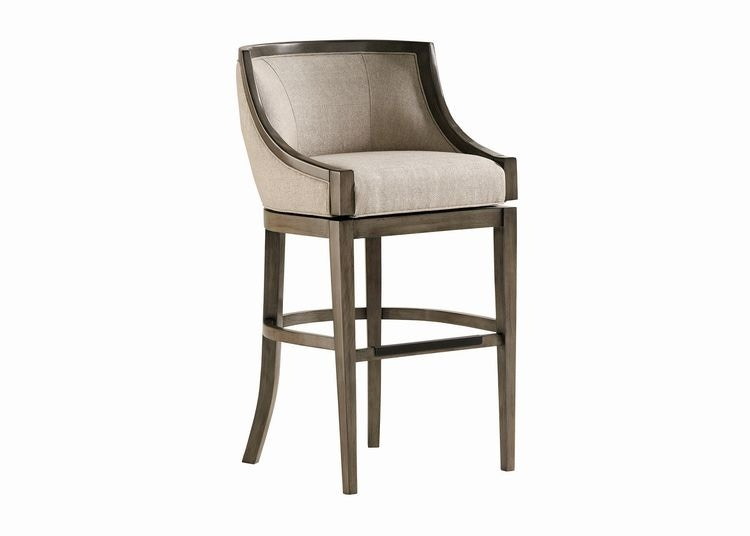 Jessica Charles Bar And Game Room Baden Memory Swivel Bar Stool