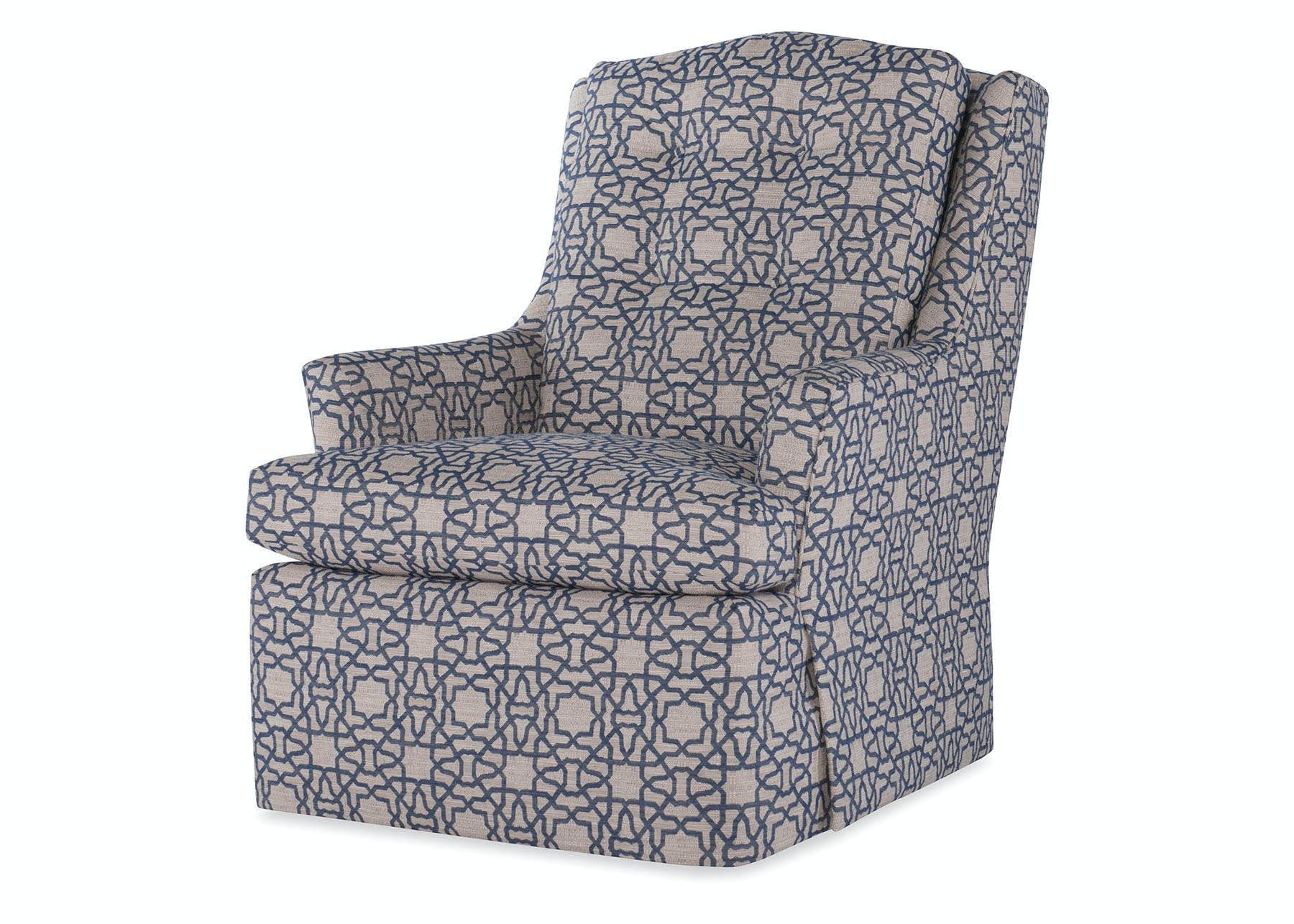 Jessica Charles Living Room Cagney High Back Swivel Chair 698 S