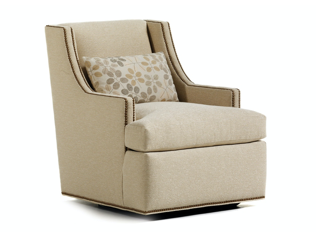 Jessica Charles Living Room Crosby Swivel Chair 625-S
