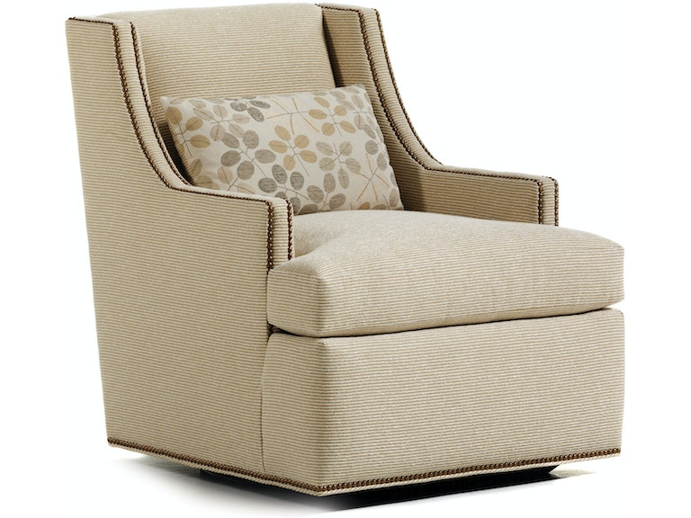 Jessica Charles Living Room Storage Ottoman 821: Living Room Crosby Swivel Chair 625-S At Greenbaum Interiors