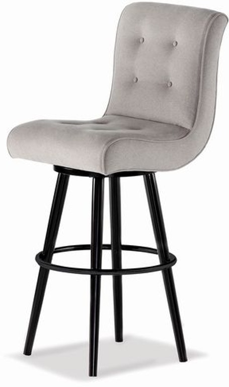 Jessica Charles Bar And Game Room Rocco Swivel Bar Stool