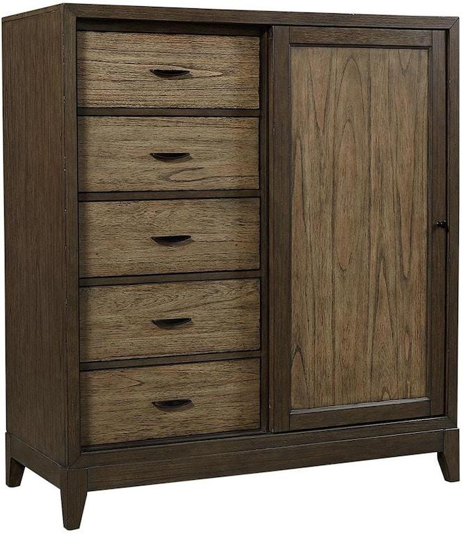 Aspenhome Bedroom Sliding Door Chest I205 457 Carol House Furniture Maryland Heights Missouri