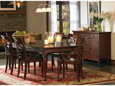 aspenhome Dining Room Leg Dining Table