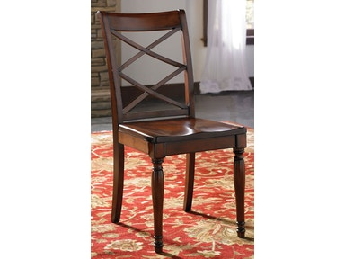 aspenhome Double X Side Chair ICB-6670S-BCH