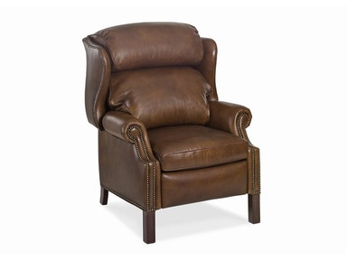 Hancock and Moore Browning Bustle Back High-leg Recliner 1001