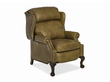 Hancock and Moore Sterling Bustle Back High-leg Recliner 1003