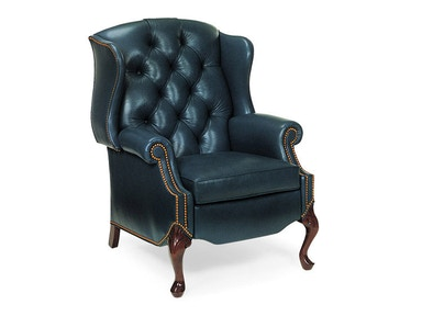Hancock and Moore Alexander Tufted Wing Chair Recliner 1015