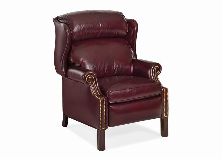 Merveilleux Hancock And Moore Woodbridge Chippendale Wing Chair Recliner 1021
