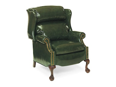 Hancock and Moore Addison Bustle Back Ball And Claw Recliner 1023