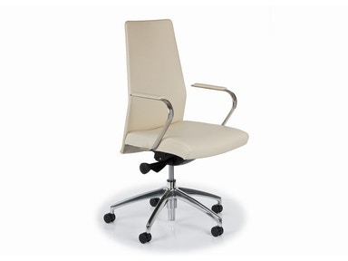Hancock and Moore Home Office Blade Fully Upholstered Swivel Tilt Chair