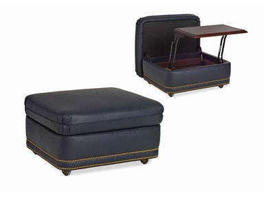 Hancock and Moore Austin Storage Ottoman 2032SO