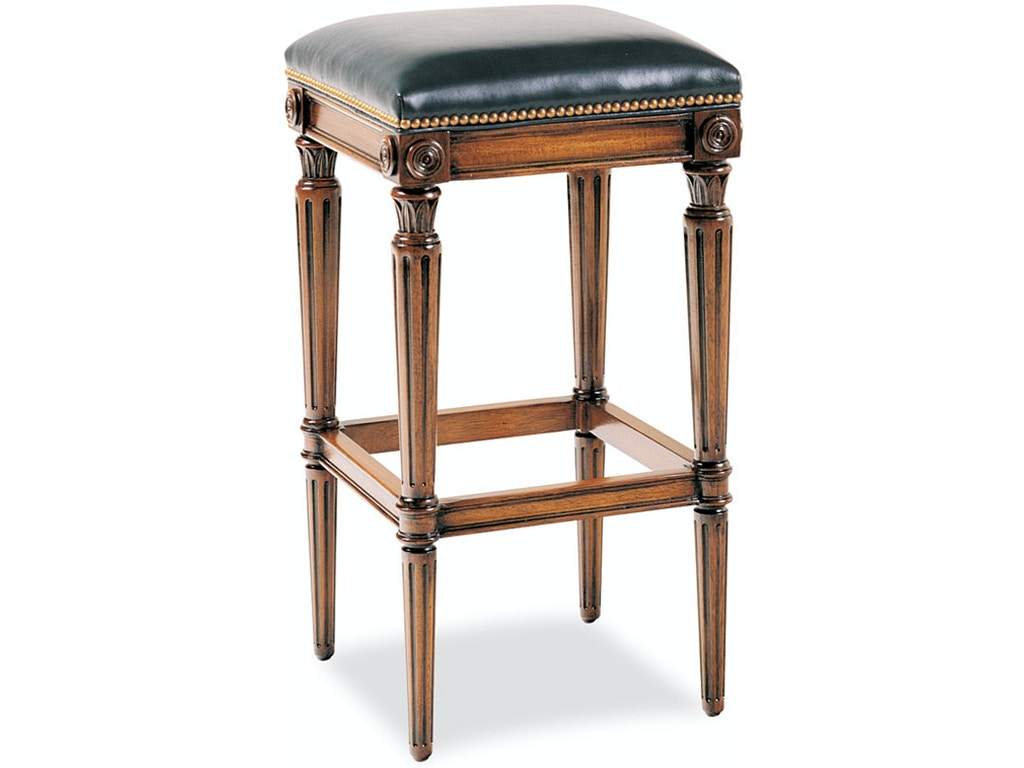 Sensational Hickory Chair Dining Room Newbury Swivel Backless Counter Inzonedesignstudio Interior Chair Design Inzonedesignstudiocom