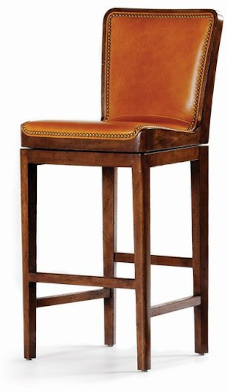 Wondrous Hancock And Moore Bar And Game Room Mirad Swivel Barstool Gmtry Best Dining Table And Chair Ideas Images Gmtryco