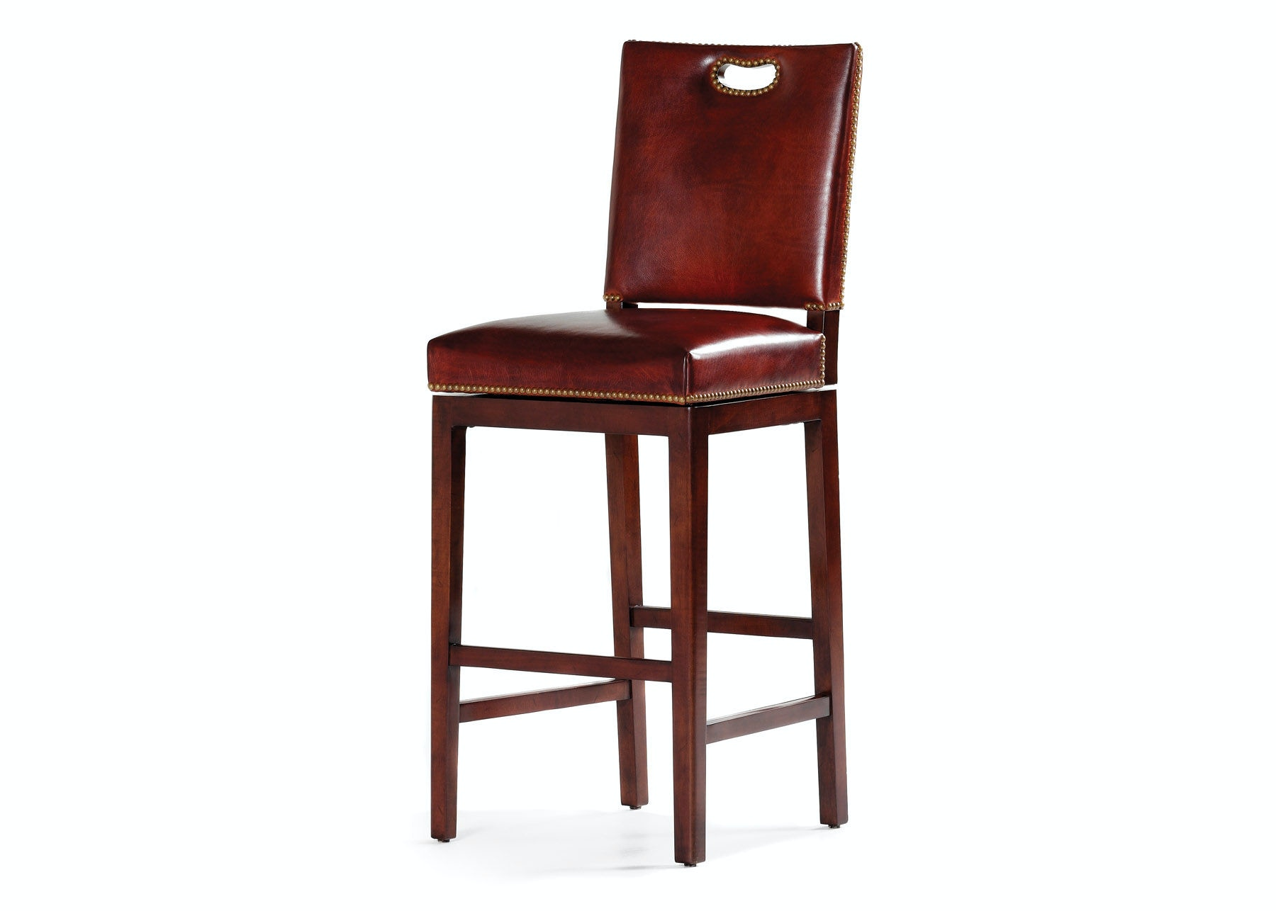 Hancock Moore Bar And Game Room Ryder Swivel Counter Stool 150 24