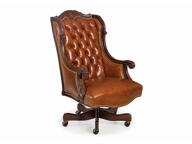 Hancock and Moore Oakley Tufted Swivel-tilt Chair 1775ST
