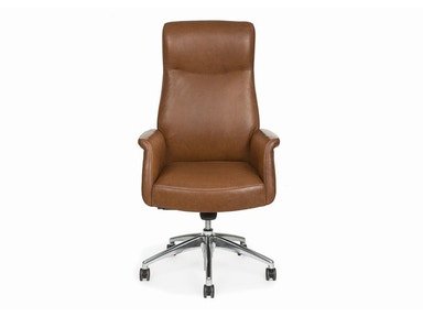 Hancock and Moore Aston High Back Swivel Tilt Pneumatic Lift Chair 4783ST-PL