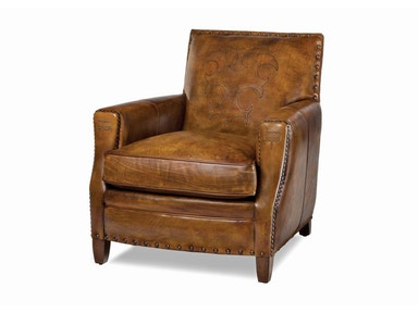 Hancock and Moore Living Room Tightmoore Bootstitch Arm Chair